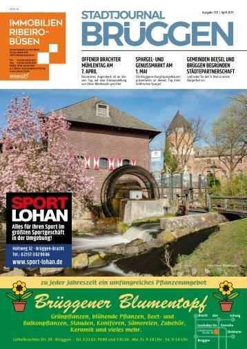 Stadtjournal Brüggen_April 2019