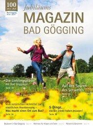 Jubiläumsmagazin - 100 Jahre Bad Gögging
