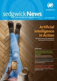 Sedgwick News - Spring issue 2019