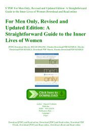 $^PDF For Men Only  Revised and Updated Edition A Straightforward Guide to the Inner Lives of Women Download and Read online