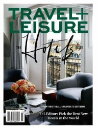 Travel + Leisure_March 2019