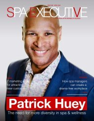 Spa Executive |Issue 5 | April 2019