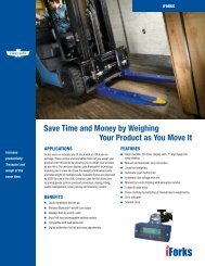 Cascade | Ravas iForks - Mobile Weighing Scale Forks