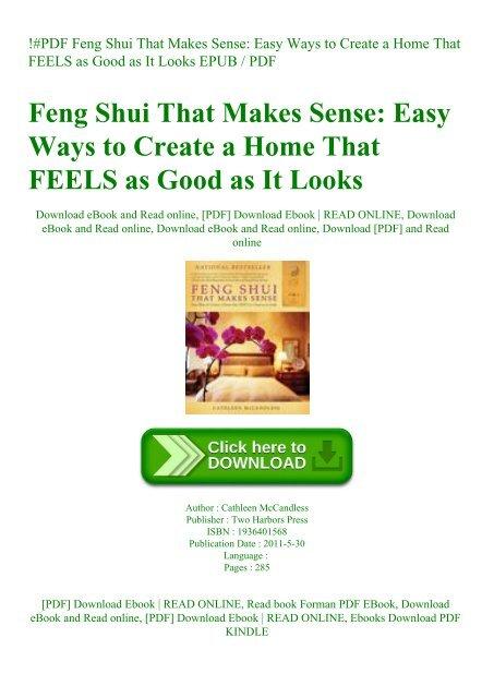 feng shui ebook free download pdf