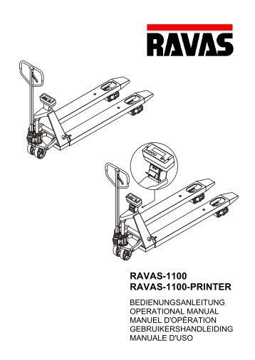 RAVAS-1100 RAVAS-1100-PRINTER