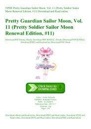 !#PDF Pretty Guardian Sailor Moon  Vol. 11 (Pretty Soldier Sailor Moon Renewal Edition  #11) Download and Read online