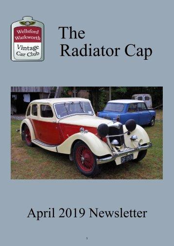 Radiator Cap April 2019