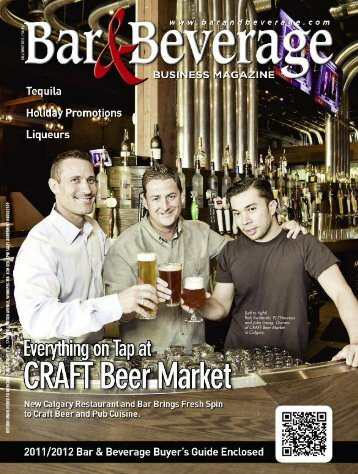 Bar & Beverage Magazine - Craft Beer Market