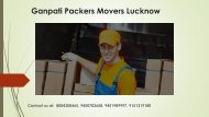 packers movers Lucknow