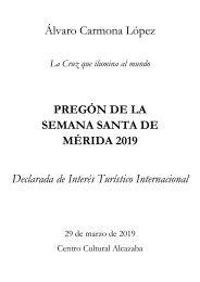 pregón SSM 2019
