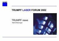 lasernetwork - Laserschneidanlage gebraucht, Co2 Laser