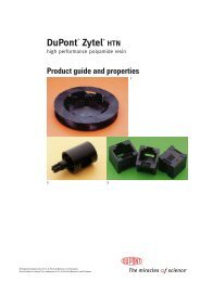DuPont™ ZYTEL® HTN Product guide and properties - Plastics ...