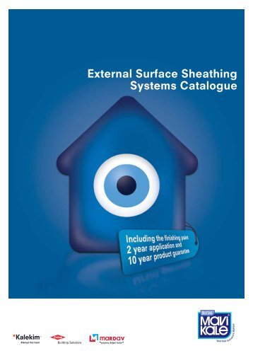 External Surface Sheathing Systems Catalogue