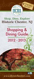 Download the Shopping & Dining Guide - I Love Chester
