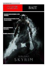 Clıck Baıt 2019 Mart Ayı Baskısı E- Dergi