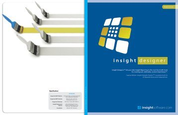 insight designer - InsightSoftware.com