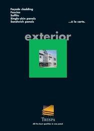 Trespa Meteon - Technical Brochure - Facades - Ravago