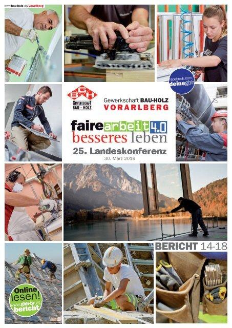 Bericht Vorarlberg 2019