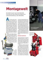 Montagewelt - Auto Service Praxis