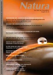 Natura | Welt der Gesundheit - Ausgabe 6