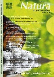 Natura | Welt der Gesundheit - Ausgabe 9