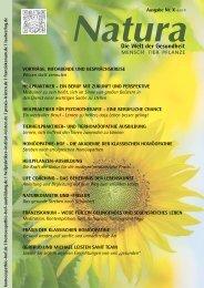Natura | Welt der Gesundheit - Ausgabe 10