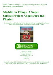 !#PDF Maddie on Things A Super Serious Project About Dogs and Physics PDF Ebook Full Series