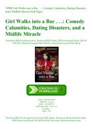 !#PDF Girl Walks into a Bar . . . Comedy Calamities  Dating Disasters  and a Midlife Miracle Full Pages