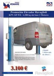 Promoción Elevador Ravaglioli KPS306HE / 3.200 ... - Grupo Vemare
