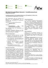 Merkblatt Energieeffizient Sanieren - Geothermie Unterhaching