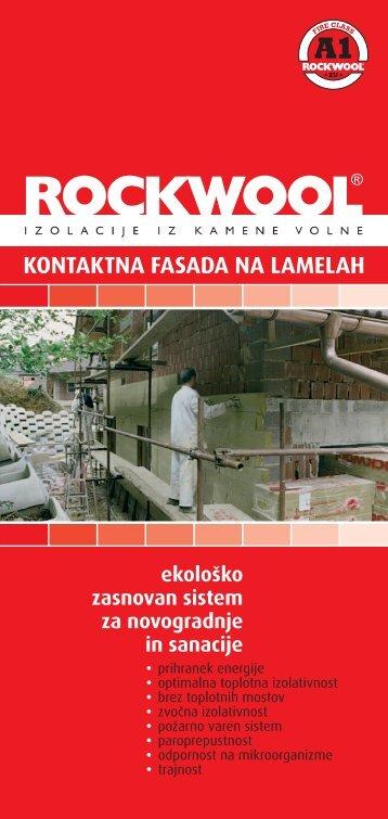 ekološko zasnovan sistem za novogradnje in sanacije - Ravago