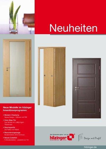 Holz-Glas-Tür ben! - Hilzinger