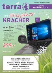 MX-Systems Frühjahrsschnäppchen - 08.04.2019
