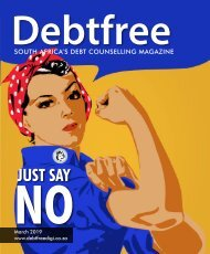 Debtfree Magazine March 2019