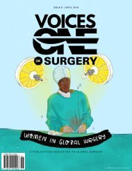 Women In Global Surgery - Voices of One Surgery - Issue 6:  April 2019