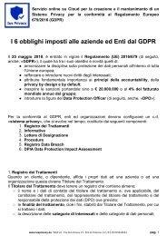 200000243_IUS PRIVACY_ I 6 obblighi imposti alle aziende ed Enti dal GDPR