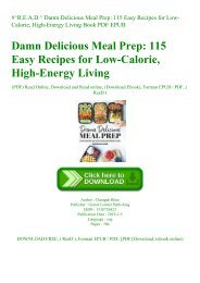 #^R.E.A.D.^ Damn Delicious Meal Prep 115 Easy Recipes for Low-Calorie  High-Energy Living Book PDF EPUB