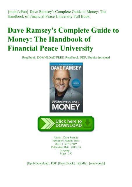 Dave Ramsey Epub