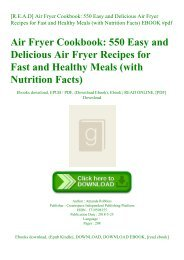 [R.E.A.D] Air Fryer Cookbook 550 Easy and Delicious Air Fryer Recipes for Fast and Healthy Meals (with Nutrition Facts) EBOOK #pdf