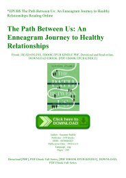 EPUB$ The Path Between Us An Enneagram Journey to Healthy Relationships Reading Online