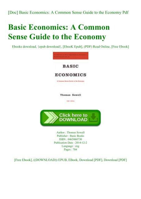 economics pdf books on basic