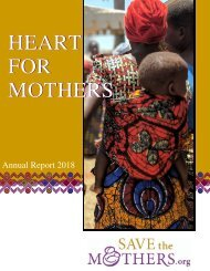 Save the Mothers Annual Report 17_18