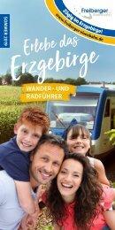 Erlebe das Erzgebirge – Wander- und Radführer Sommer 2019