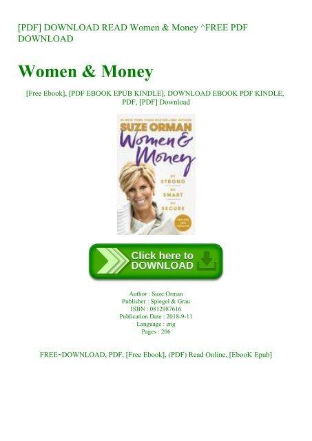Women with money pdf free download free