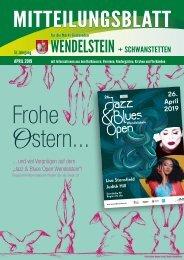 Wendelstein + Schwanstetten April 2019