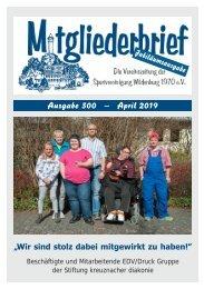 Ausgabe 300 - April 2019
