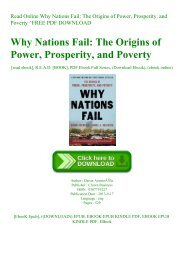 Read Online Why Nations Fail The Origins of Power  Prosperity  and Poverty ^FREE PDF DOWNLOAD