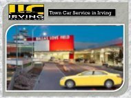 Town Car Service Irving TX