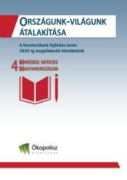 ENSZ fenntartható Fejlődési Célok IV- Az oktatás fejlesztése