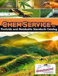 Chem Service Pesticide Catalogue 2019 Update